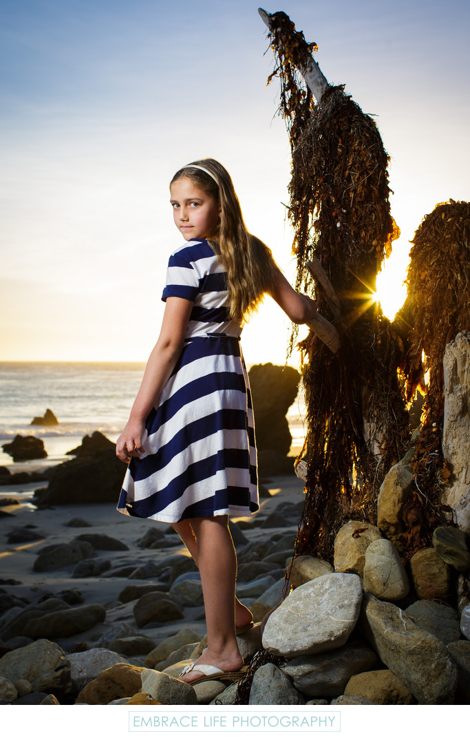 Malibu Portrait Photography on the Beach