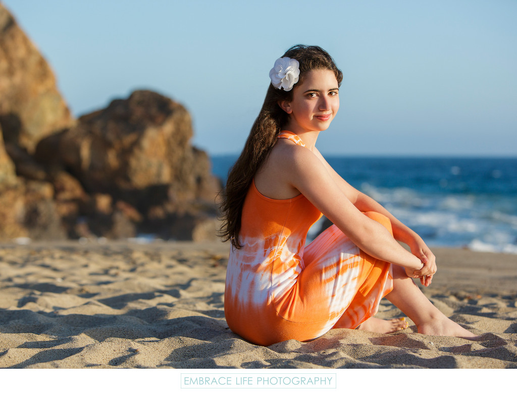 Santa Monica Beach Portrait Photographer