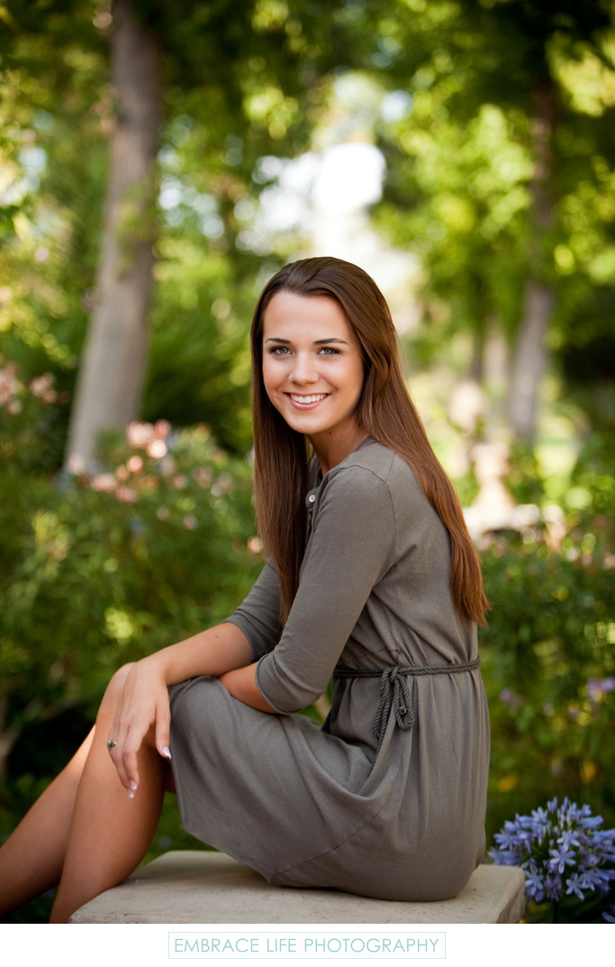 Effortlessly Beautiful Westlake Village Senior Portrait