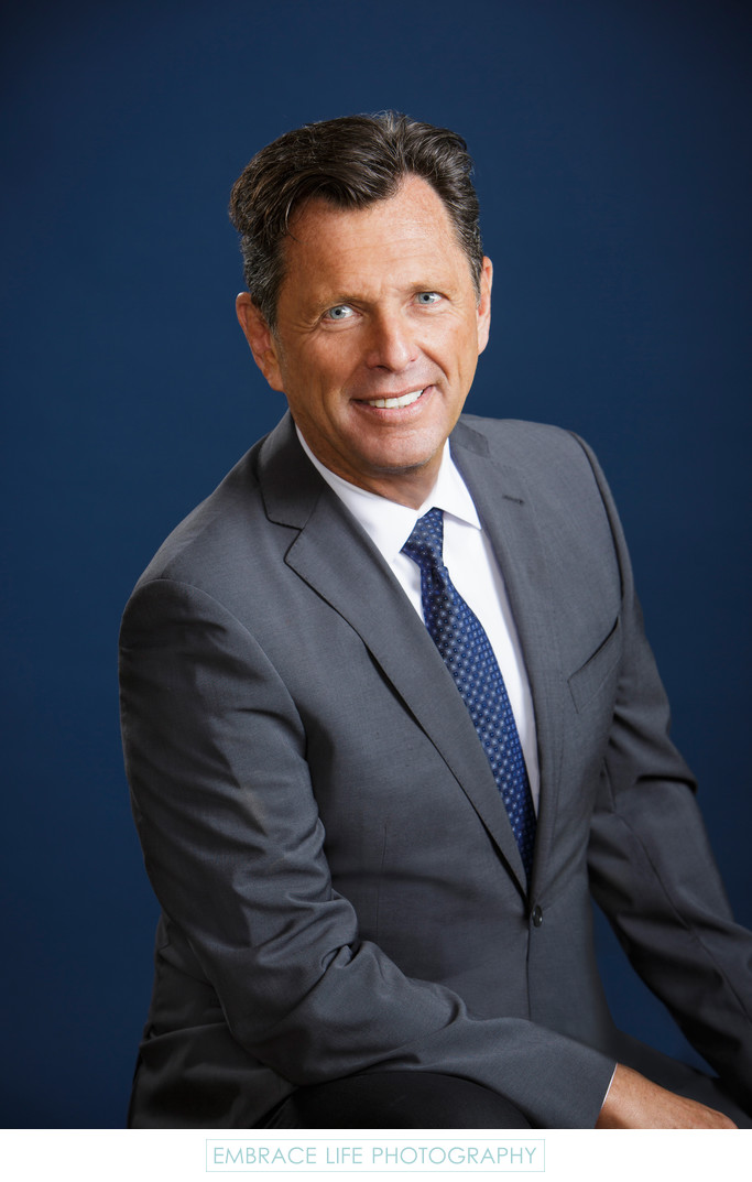 Healthcare Executive Corporate Headshot in Los Angeles