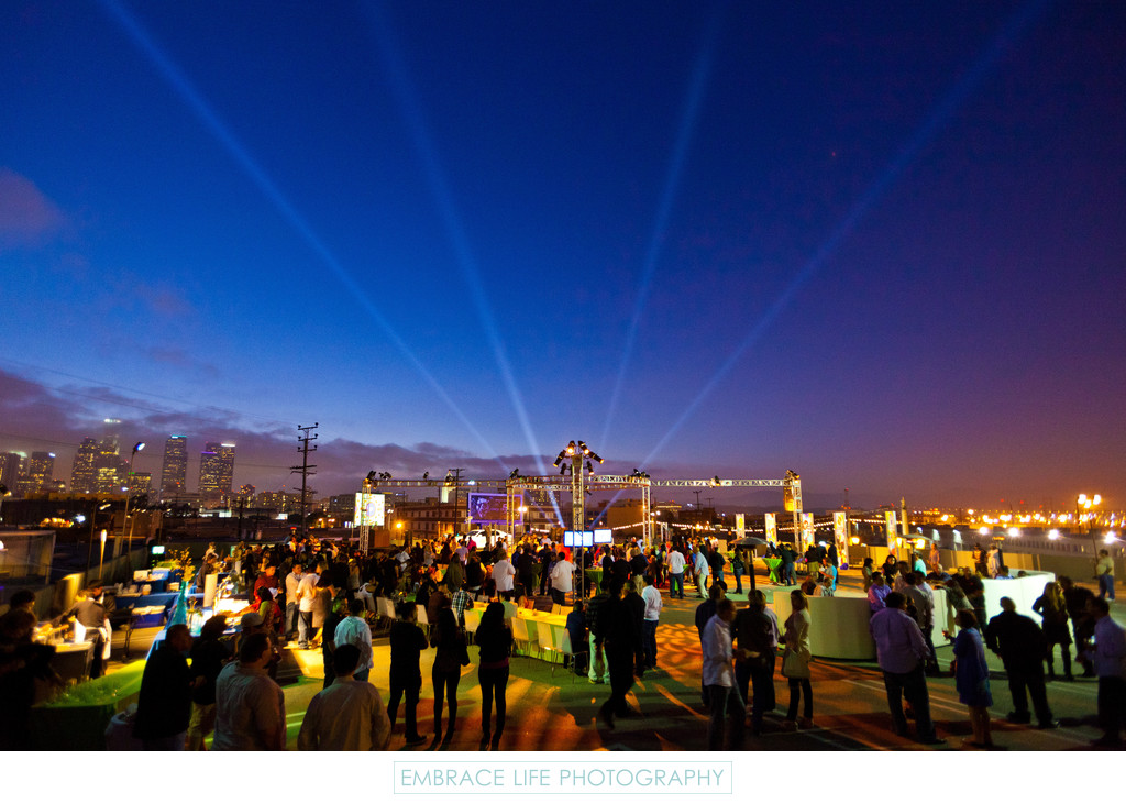 Downtown Los Angeles Corporate Event Lighting