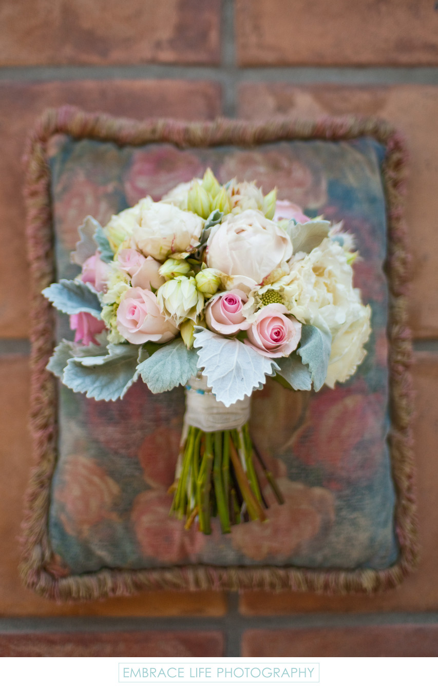 Wedding at Westlake Village Inn - Bouquet Photograph