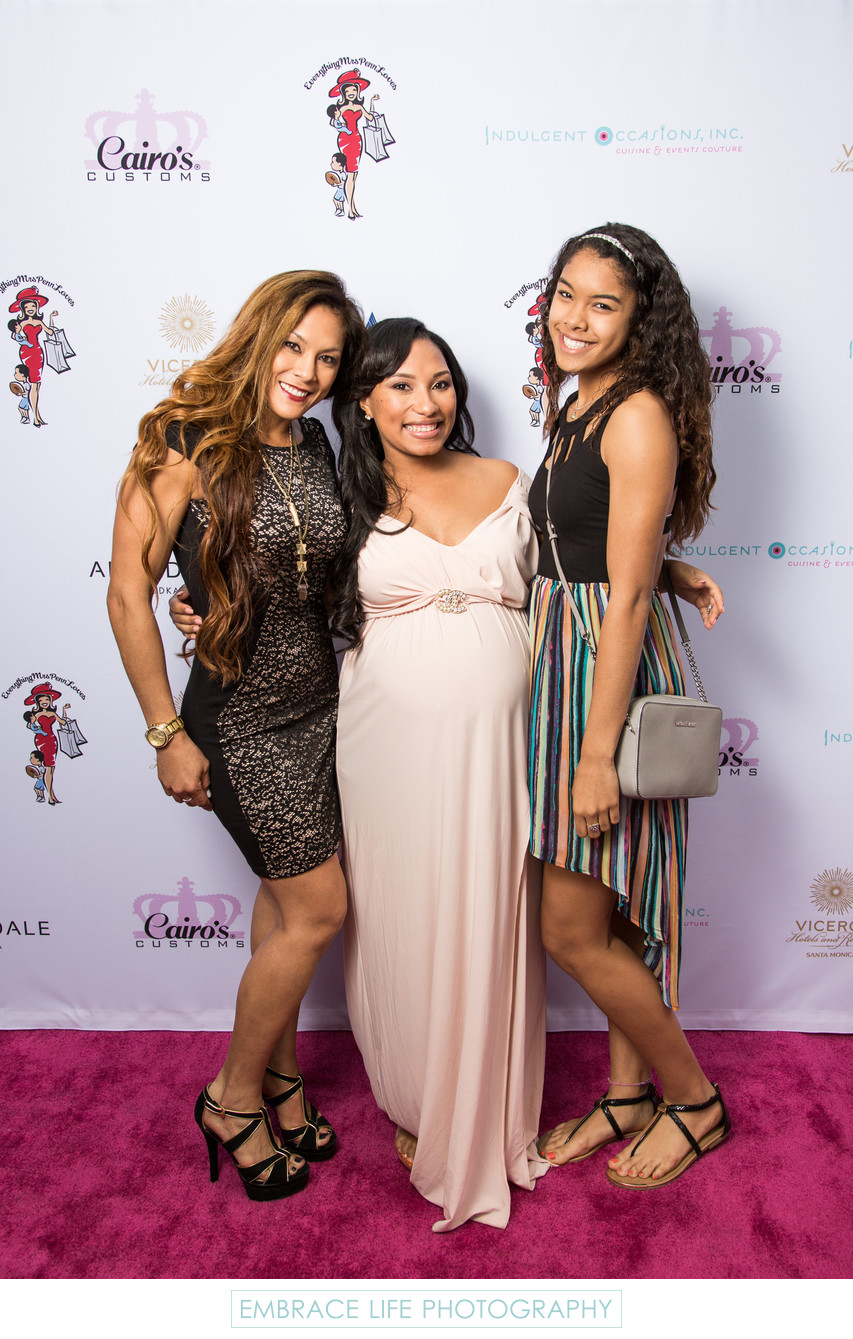 Pink Carpet Step-and-Repeat Event Photography