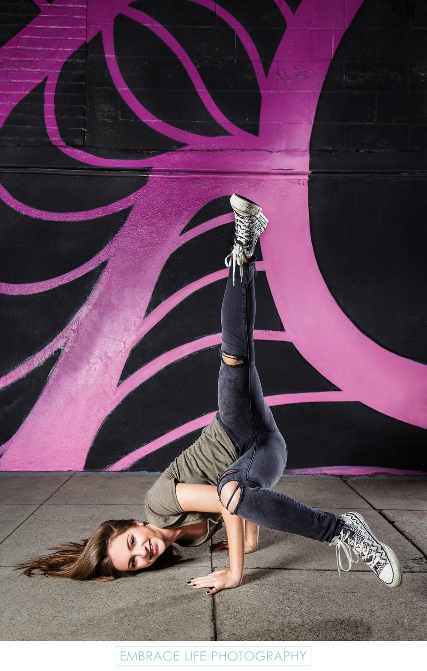 Hip Hop Dance Portrait in Los Angeles Arts District