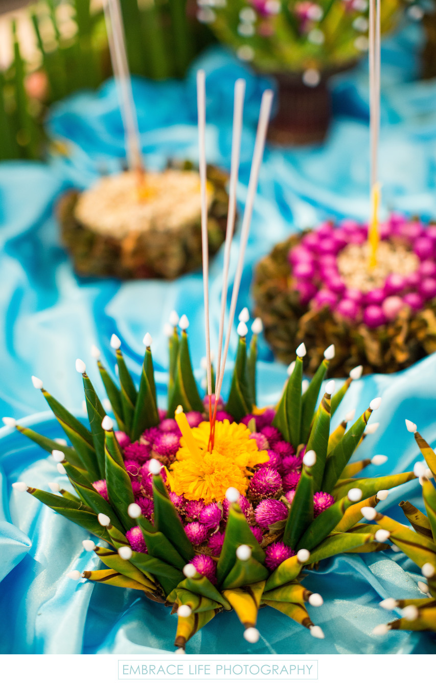 Krathong Table Decorations