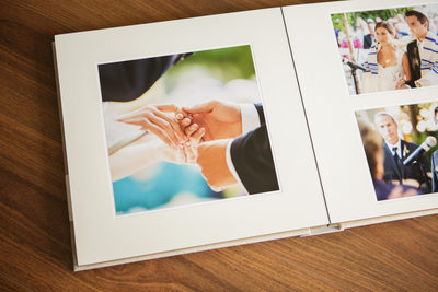 Hand Crafted Elegant Calamigos Equestrian Wedding Album