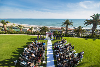 Los Angeles Wedding Ceremony Near the Beach