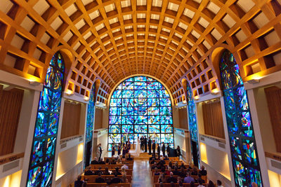 Stauffer Chapel Wedding, Pepperdine University, Malibu