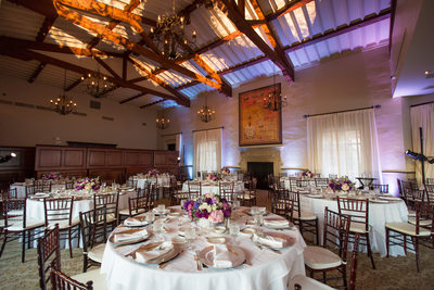 Los Angeles Ballroom Wedding Reception Lighting