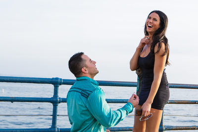 Santa Monica Proposal Photographer