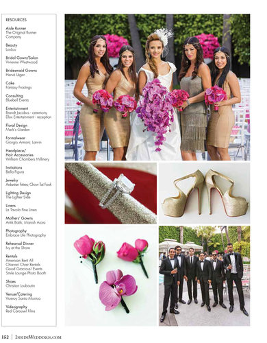 Viceroy Santa Monica Wedding Party and Detail Photos