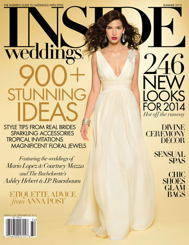 Inside Weddings Magazine Cover - Summer 2013
