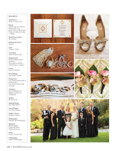 Detail Photographs - Inside Weddings Magazine