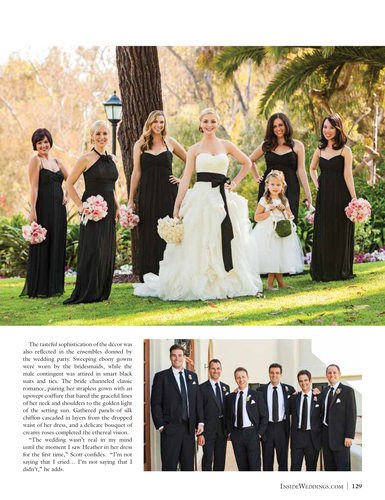 Wedding Party Portraits - Inside Weddings Magazine