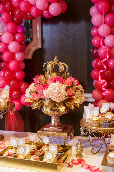 Princess Theme Baby Shower at Viceroy Santa Monica