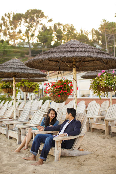 Paradise Cove Proposal Engagement Portrait, Malibu, CA