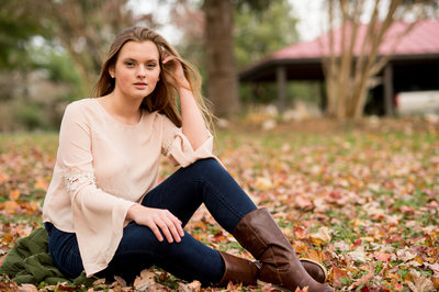 Casual Fall Senior pic