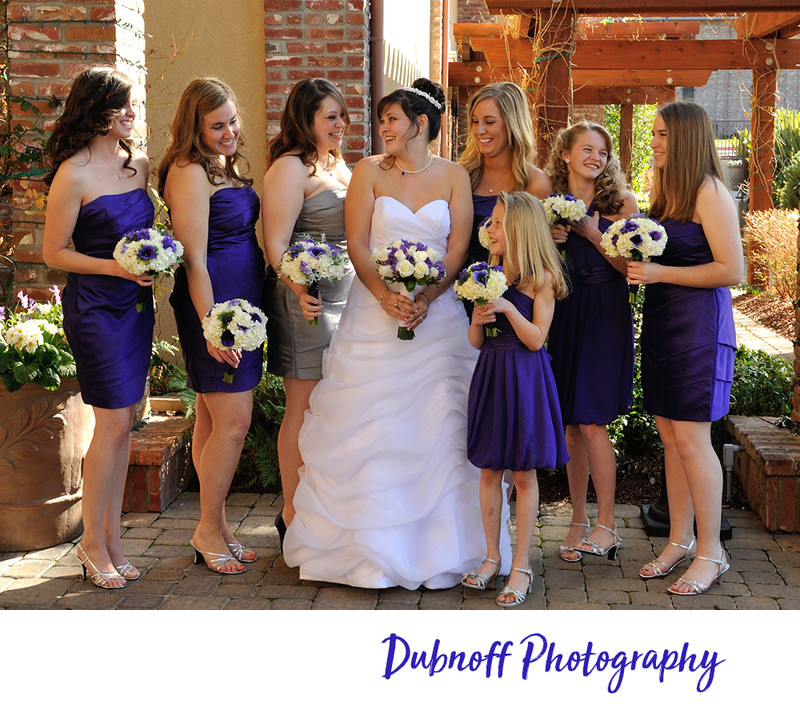 Livermore winery bridesmaids