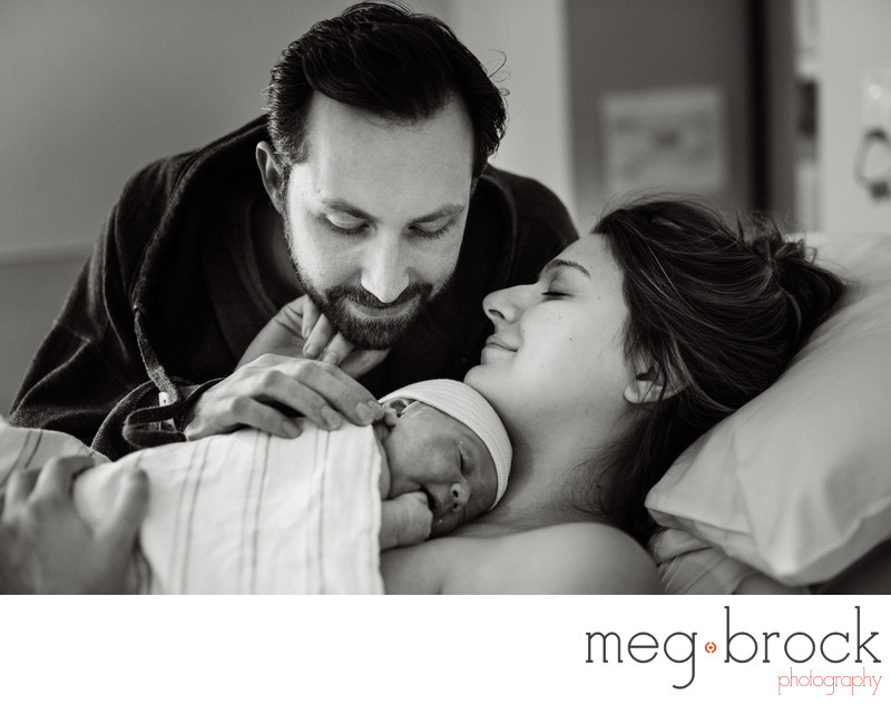 Best Langhorne Abington Hospital Birth Photographer