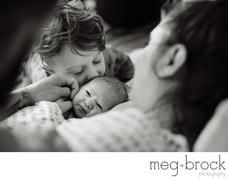 Best Home Birth Siblings Ambler Photography