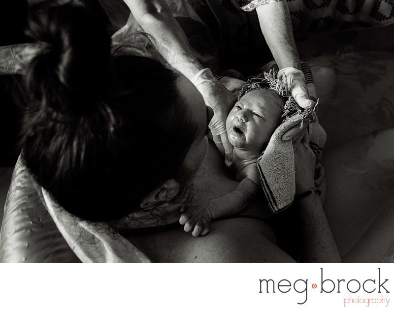 Best Ambler Home Birth Photography
