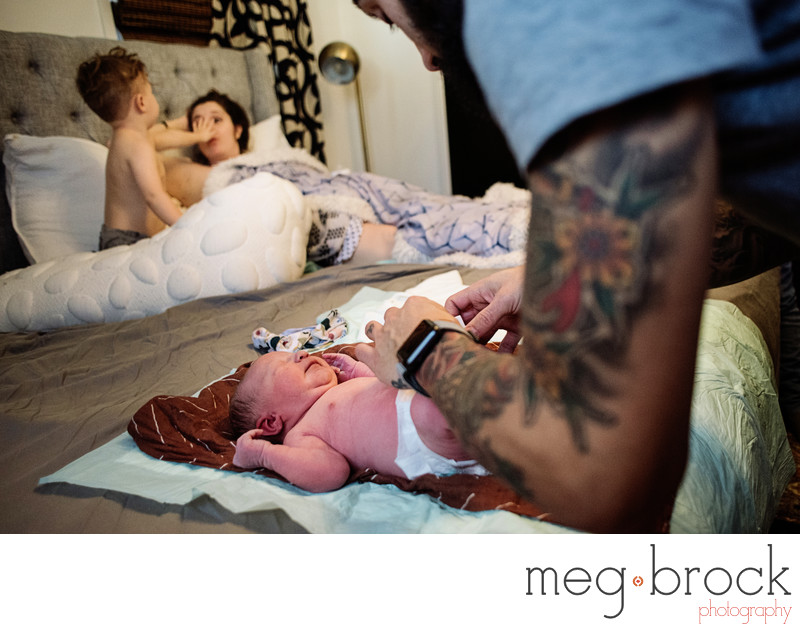 Best Pennsylvania Home Birth Photographer