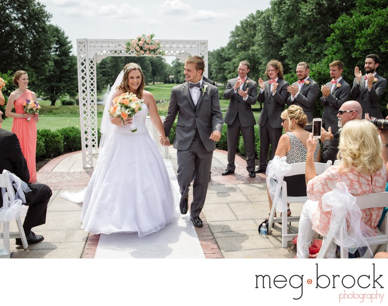 Northampton Valley Country Club Wedding Ceremony