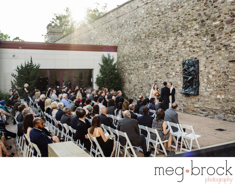 Michener Art Museum Wedding Ceremony