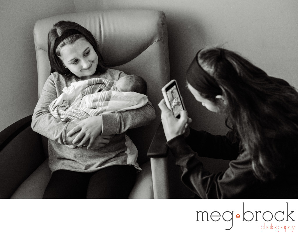 PA NJ Family Documentary Fresh 48 Birth Photographer