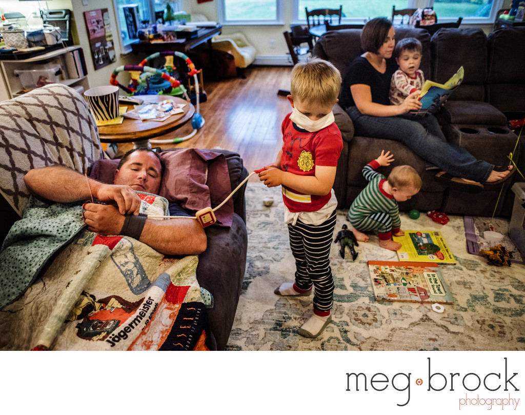 Philadelphia Family Documentary Home Photography