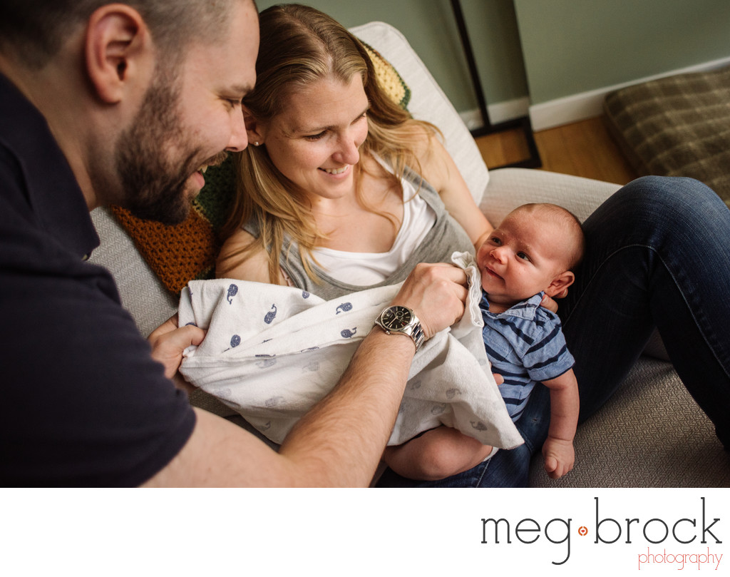 Best Pennsylvania Documentary Newborn Photographer