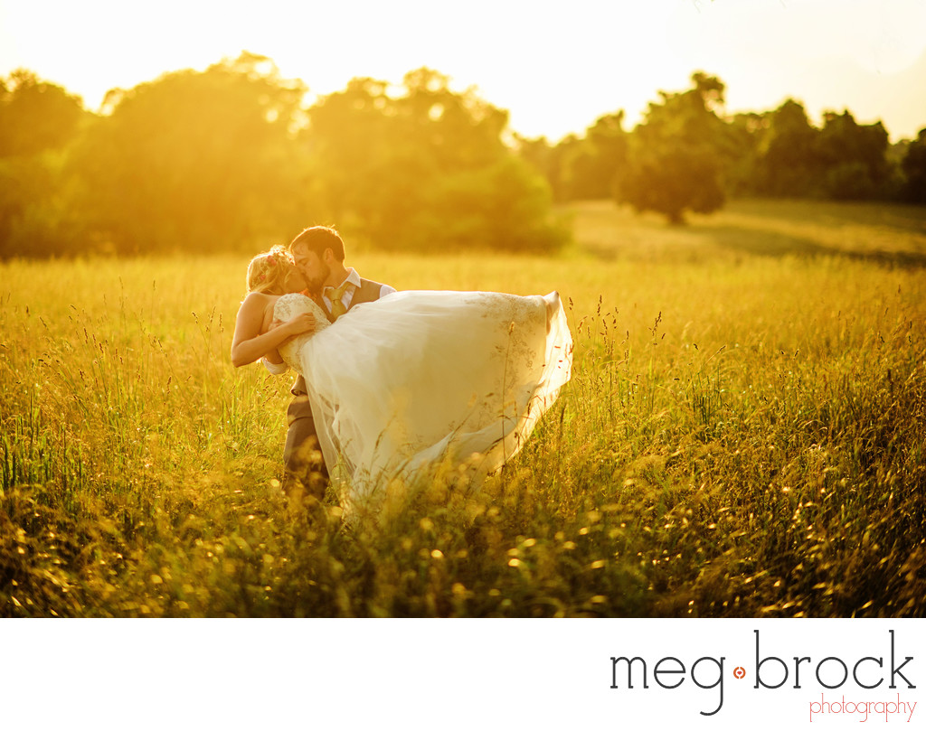 New Jersey Golden Hour Wedding Photography
