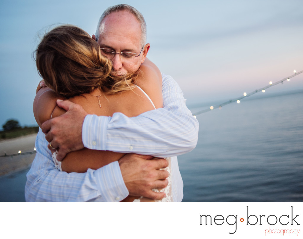 Emotional Cape May New Jersey Wedding Photographer