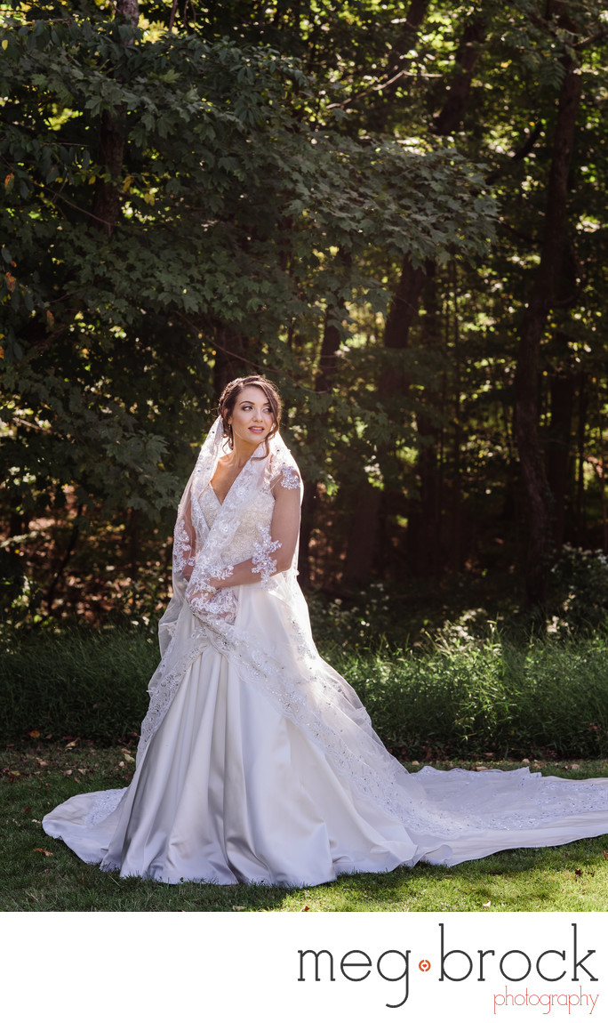 Beautiful Bucks County PA Bridal Portrait Photography