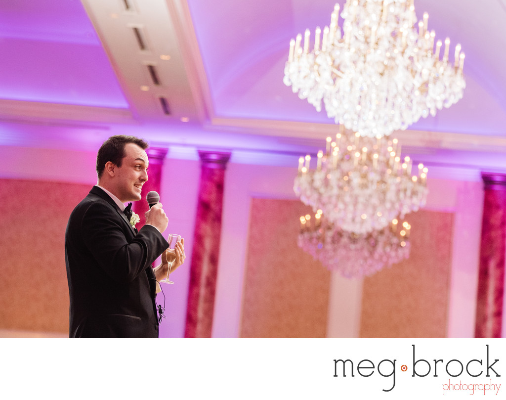 Best Man Toast At The Merion New Jersey