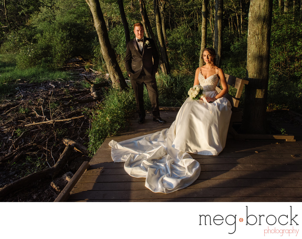 Churchville Nature Center Wedding Portraits