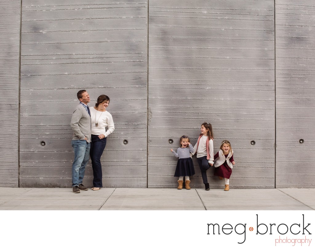Fun Winter Family Photography Session