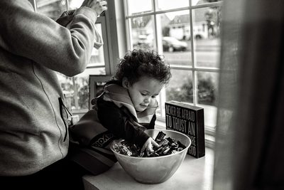 Newtown Family Documentary Photographer