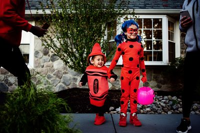 Best Halloween Documentary Family Photographer