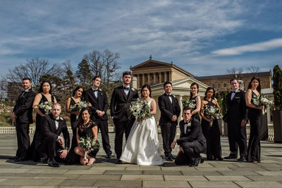 Water Works Philadelphia Bridal Party