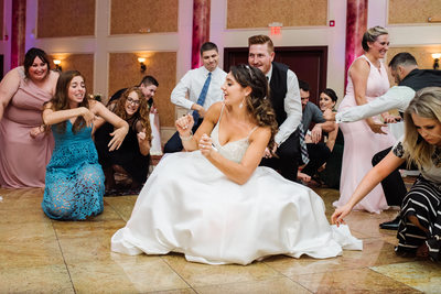 Dancing At The Merion Wedding Reception