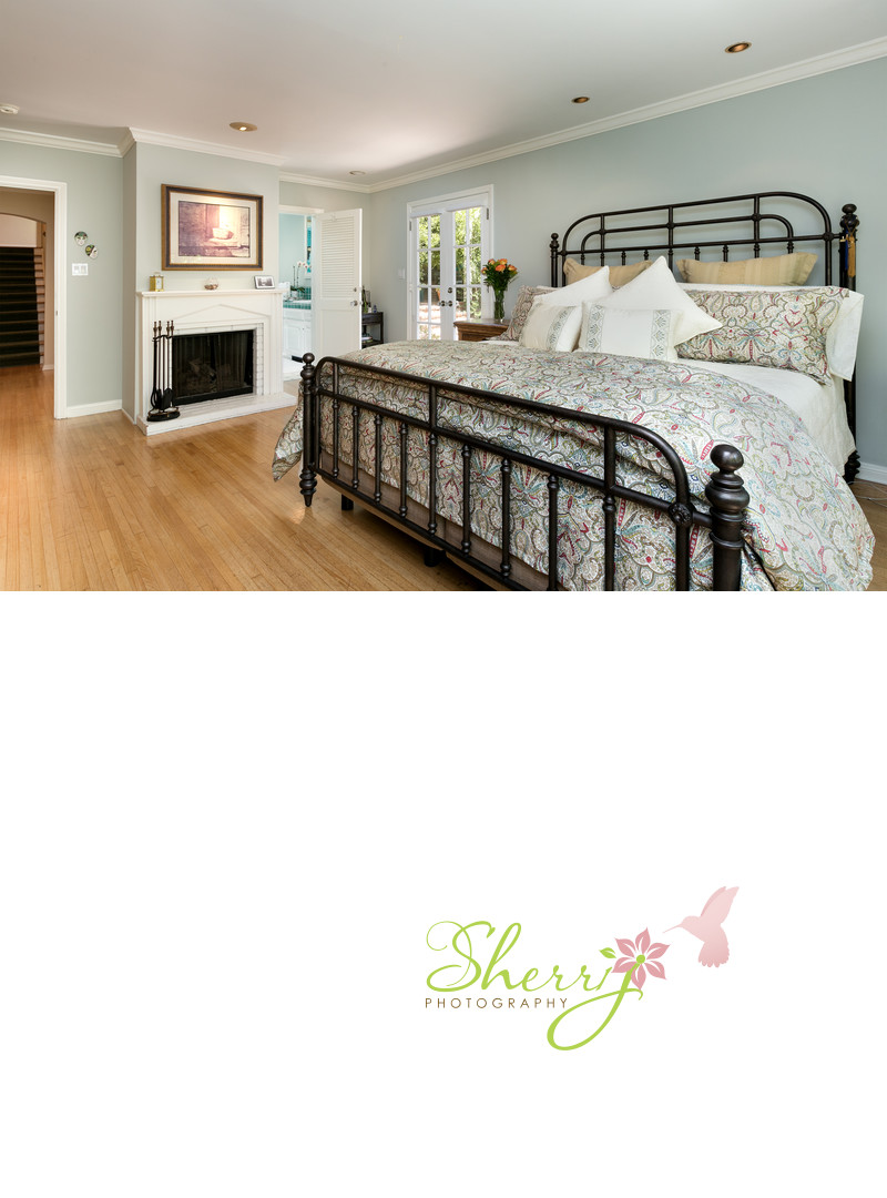 Traditional master bedroom Westwood Hills