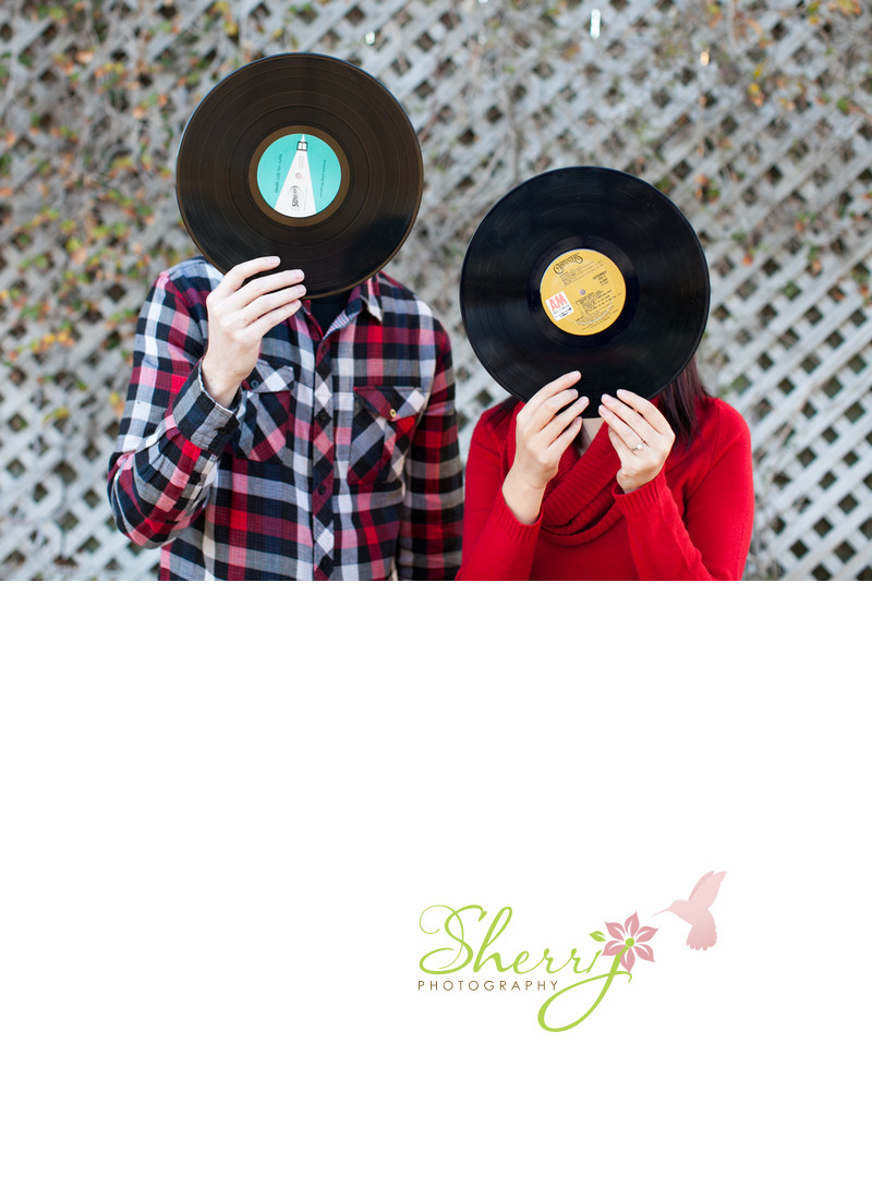 engagement pose ideas love of records