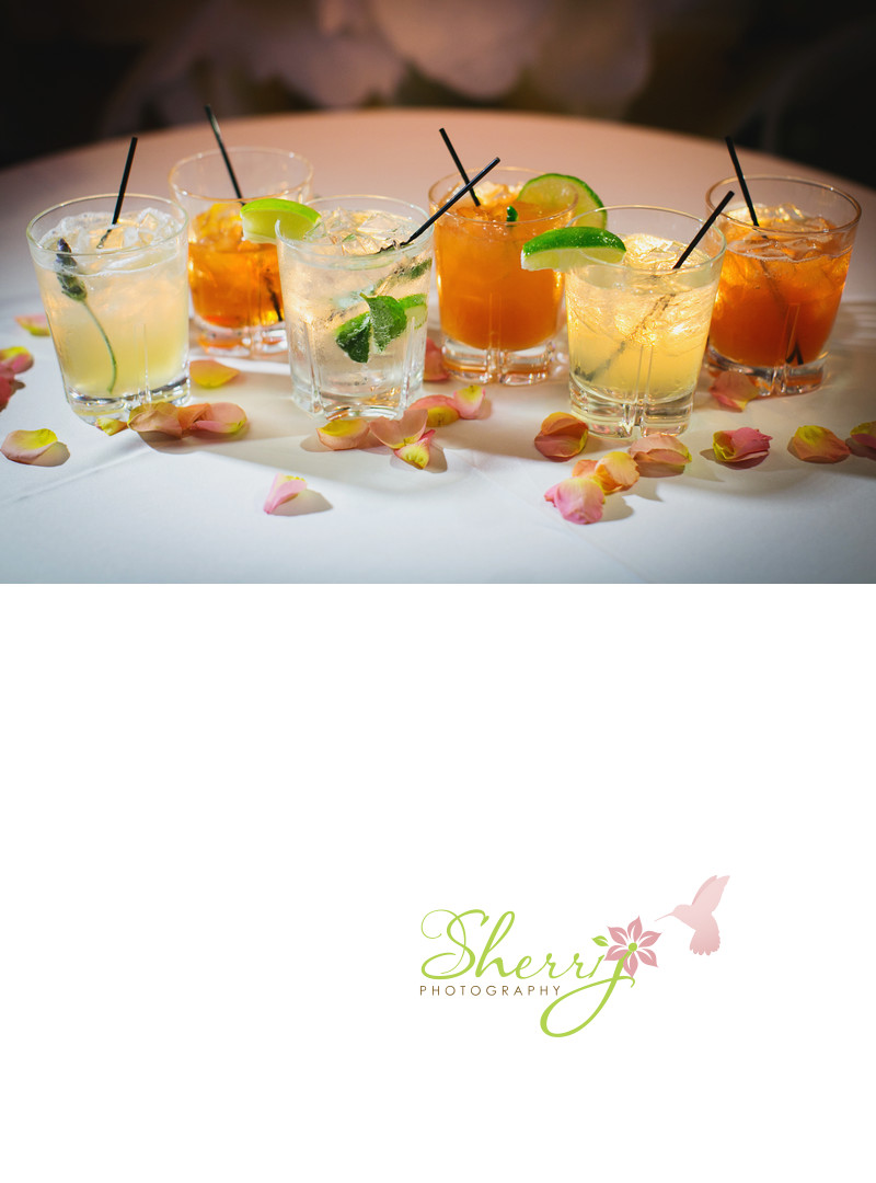 six signature drinks