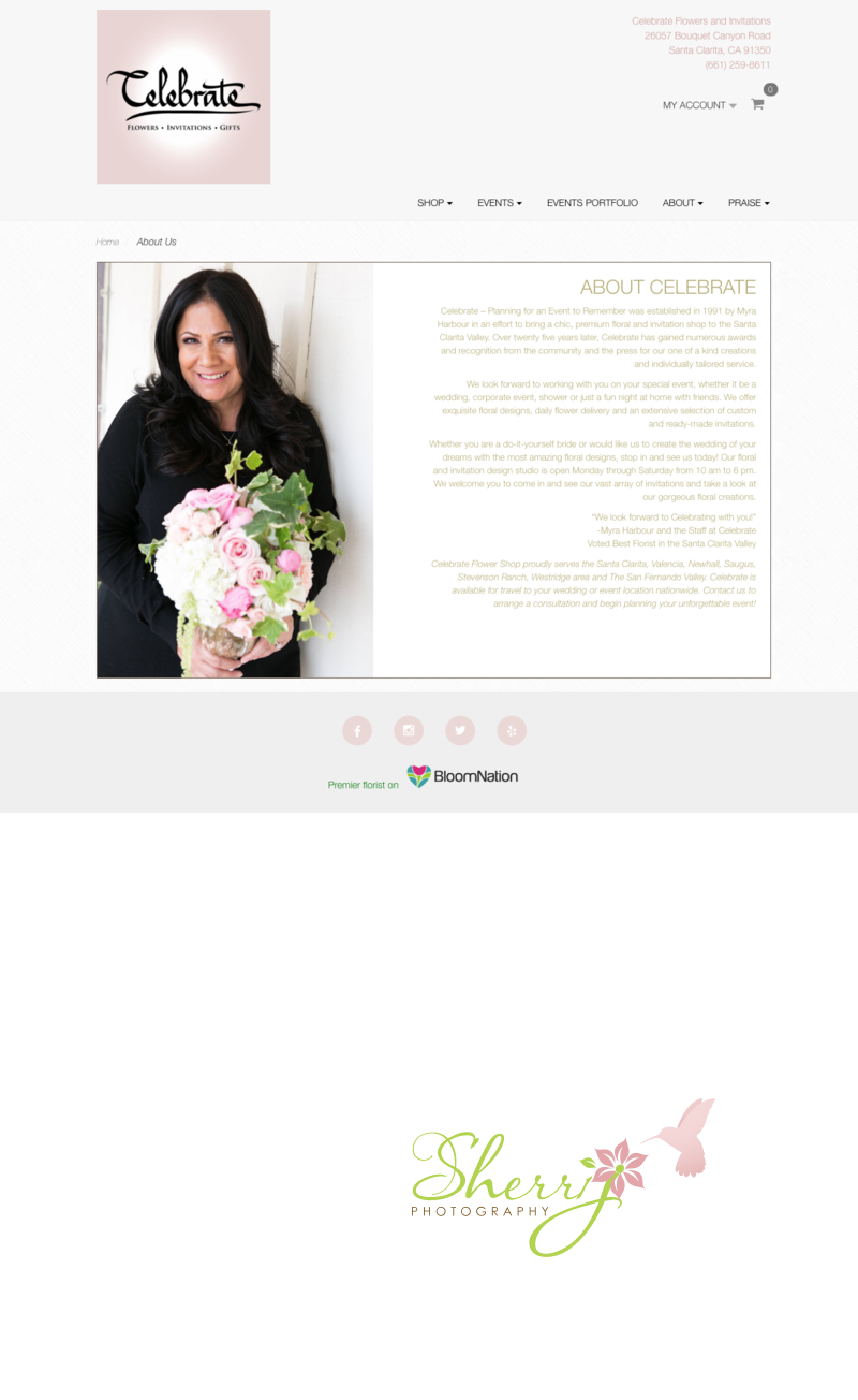 Bloomnation feature Celebrate Florist