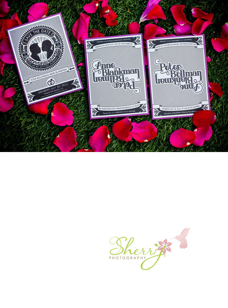 anagram wedding invitations