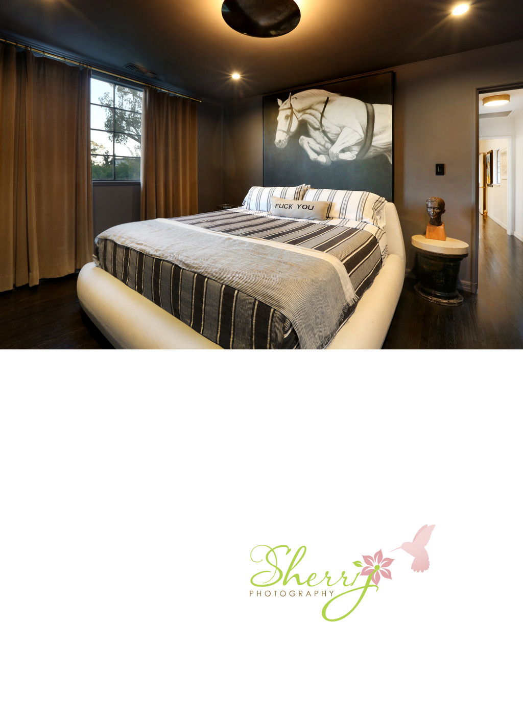 stylish guest bedroom Clements Design