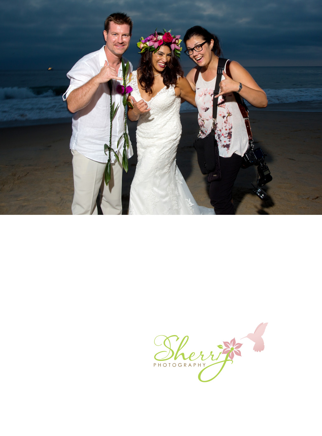 Orange County Beach Wedding Photographer