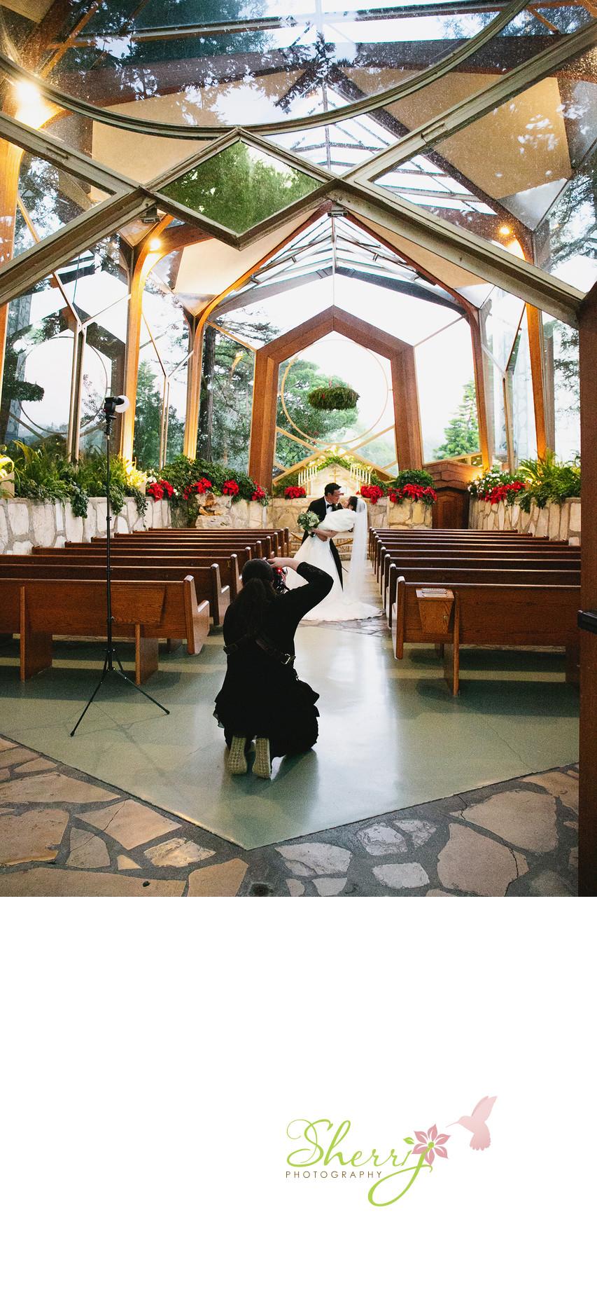 wedding photographer Wayfarer Chapel Palos Verdes