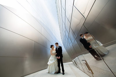 Wedding at Walt Disney Concert Hall Los Angeles